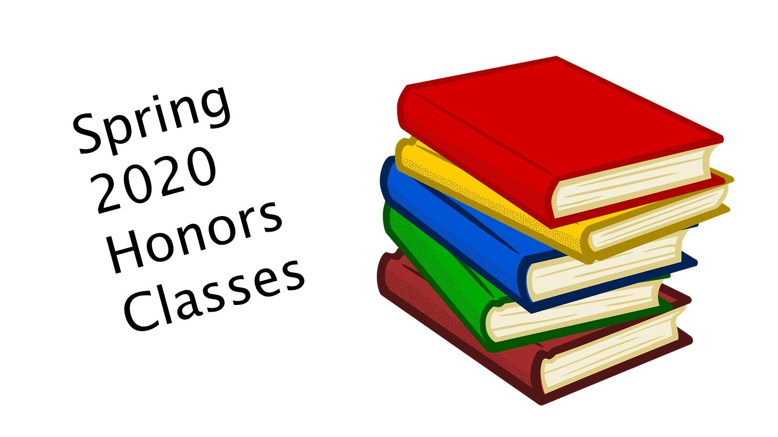Spring 2020 Honors Classes